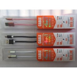 USB CABLE IPHONE 5/6/MICRO USB
