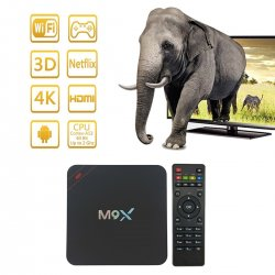 HONGTOP M9X Android Smart TV Box 4K 3G/32G Streaming Media Players