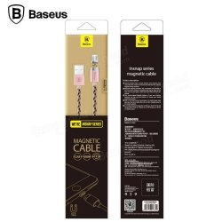 Baseus Insnap series magnetic cable Luxury gold For IPHONE