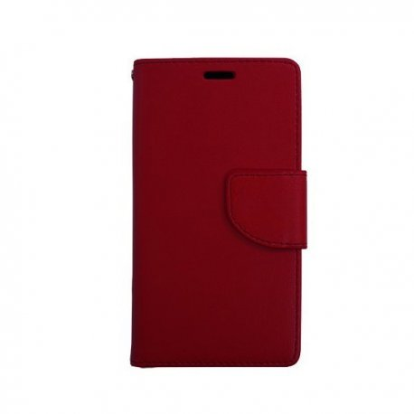 Huawei P10 Litchi Texture Horizontal Flip Leather Case with Magnetic Buckle & Holder & Card Slots & Wallet (DARK RED)