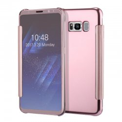 CLEAR VIEW COVER FOR SAMSUNG GALAXY S8 ROSEGOLD