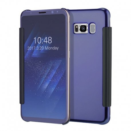 CLEAR VIEW COVER FOR SAMSUNG GALAXY S8 PLUS DARK BLUE