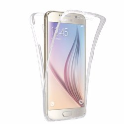 Silicone Case 360 Transparent for Samsung S6 EDGE G925