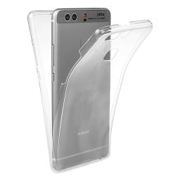 Silicone Case 360 Transparent for Huawei P9