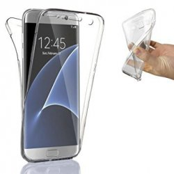 Silicone Case 360 Transparent for Samsung S7 EDGE G935