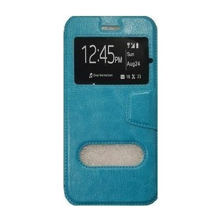 XIAOMI REDMI NOTE 3 BOOK CASE BLUE WITH WINDOWS