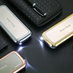 Power Bank Mirror Portable RoseGold 10000 mAh