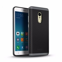Xiaomi Redmi Note 4X IPaky Premium TPU+PC Hybird Armor Protective Back Bumper Case Cover Black