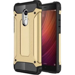 Xiaomi Redmi 3S 360° Protection ShockProof Anti-Dust Back Case Cover GOLD