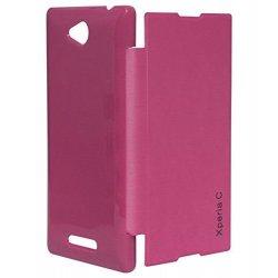 Sony Xperia E / C1505 / C1605 BOOK CASE PINK