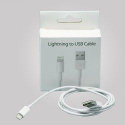Apple iPhone & iPad Lightning Cable Blister OEM WHITE
