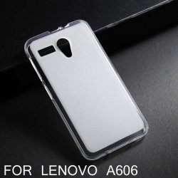 LENOVO A606 Silicon Case Transperant Matte