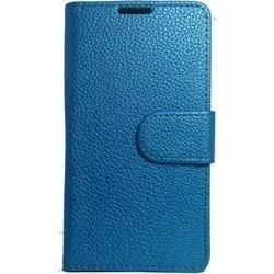 HTC Desire HD2 BOOK CASE BLUE