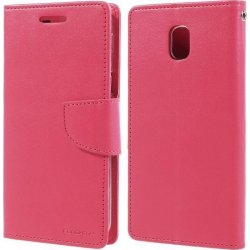 Sony Xperia Ε1 D2004 BOOK CASE PINK