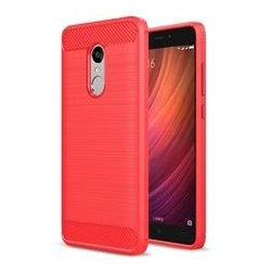 Xiaomi Redmi 4 Luxury Plastic Hard Phone Back Case Cover (Silver)