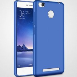 Huawei Mate 9 Lite/Honor 6X Silicon Case Transperant Matte Blue