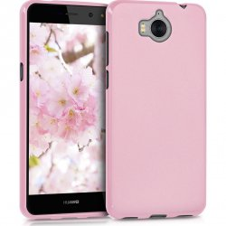 Huawei Y6 2017 Silicon Case Pink