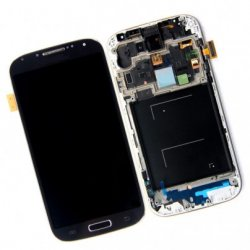 Samsung i9505 Front+Lcd+Touch Screen blue