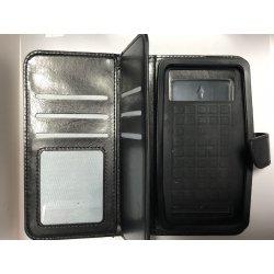 "Universal Mobile Case Book Wallet 5.0""-5.3"" Black"