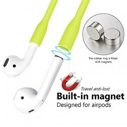 Totu Magnetic Sport Silicone Strap For Airpods Green