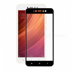 Xiaomi Redmi Note 5A Tempered Full Screen Protector Black