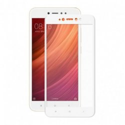 Xiaomi Redmi Note 5A Tempered Full Screen Protector White