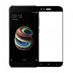Xiaomi Redmi 5X/A1 Tempered Full Screen Protector Black