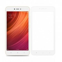 Xiaomi Redmi 5X/A1 Tempered Full Screen Protector White