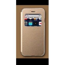 Samsung Galaxy S6 G920 Book Case Gold UFO