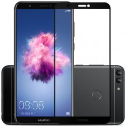 Huawei PSmart Tempered Glass 9H Full Cover Black