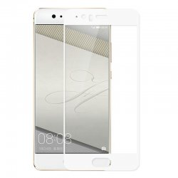 Huawei PSmart Tempered Glass 9H Full Cover White