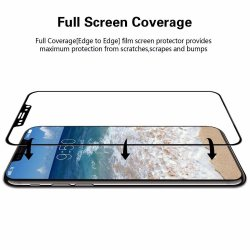 IPhone X Tempered Glass 9H Full Cover 5D Black