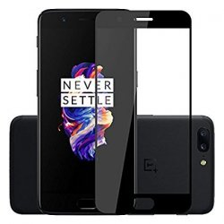 OnePlus 5 Tempered Full Screen Protector Black