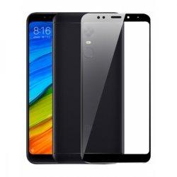 Xiaomi Redmi 5 Plus Tempered Full Screen Protector Black