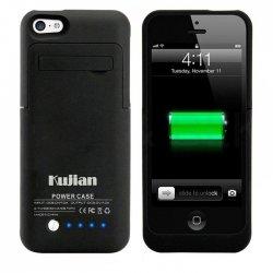 IPhone 5G/5C/ 5S/SE PowerBank Case Black 2200mAh