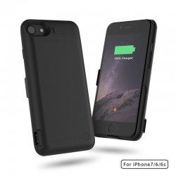 IPhone 6/6S/7 PowerBank Case Black 10000mah