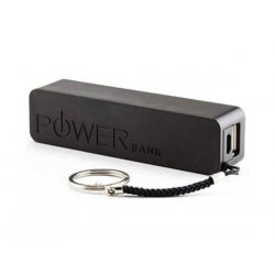 Crystal Digital A5 2600mAh USB Power Bank Black