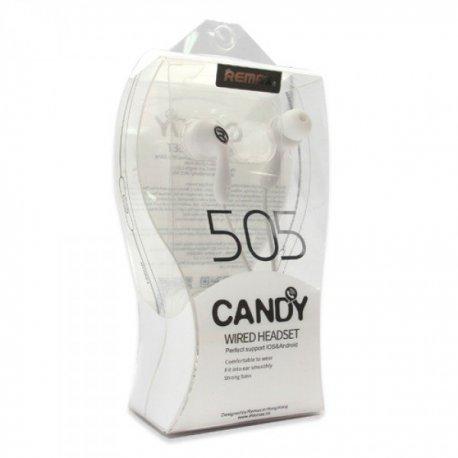 Remax Earphones RM-505 White