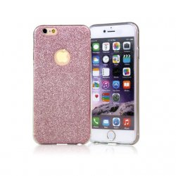 IPhone 6/6S Ultra Thin Glitter Bling Back Cover Pink