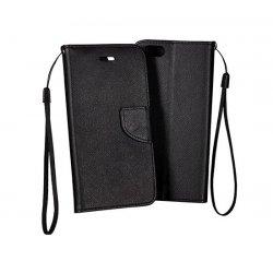 LG Q6 Book Fancy Case Black