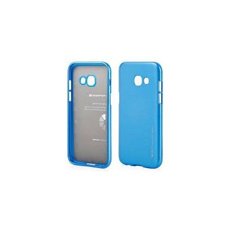 Samsung Galaxy A3 2017 (A320) I-Jelly Metal Mercury Case Blue