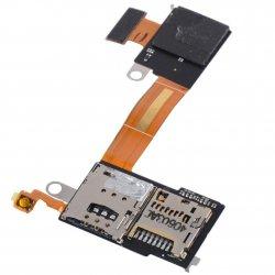 Sony Xperia M2 D2305 D2303 D2306 Flex Cable Sim + Mmc