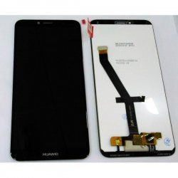 Huawei Y6 2018 Lcd+Touch Screen Black