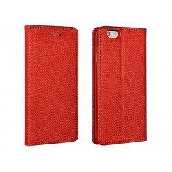Samsung Galaxy J8 2018 J800 Smart Book Case Magnet Red