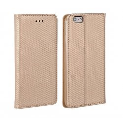 Huawei Y9 2018 Smart Book Case Magnet Gold