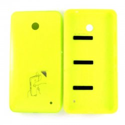 Nokia Lumia 635/636 Battery Cover Yellow