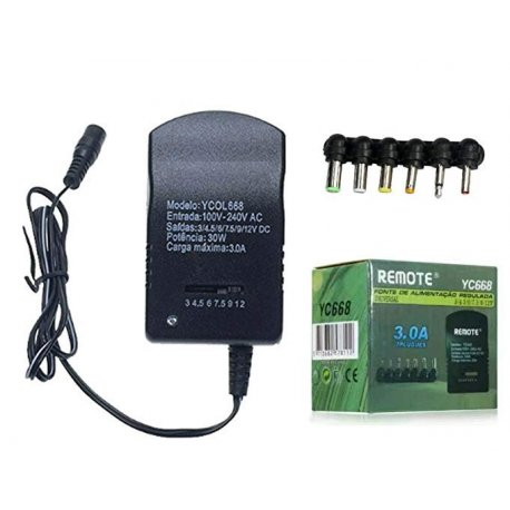 Universal Adjustable AC/DC Adapter 3-12V Power Supply Adapter 3A