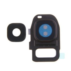 Samsung Galaxy S7 G930 Camera Lens+Frame Black