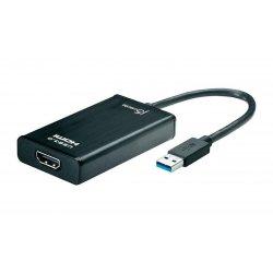 Converter USB 3.0 (M) To HDMI 1.4V (F), 0.20cm