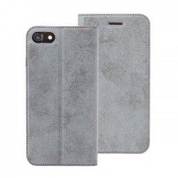 IPhone 5/5S/SE Magnet Book Case Luxus Velour Black
